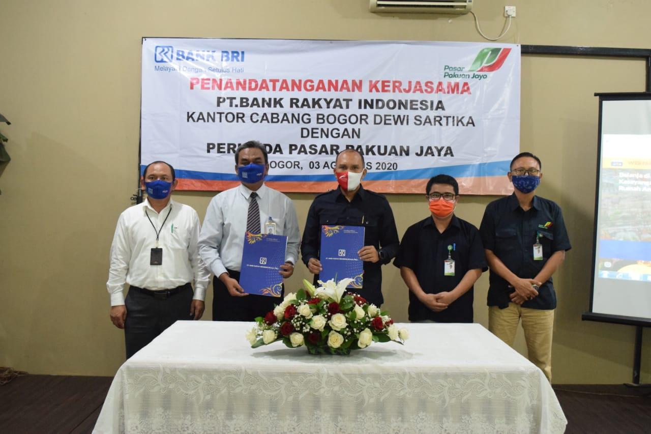 Perumda PPJ Jalin Kerjasama dengan PT. BRI  (Persero) Cabang Bogor