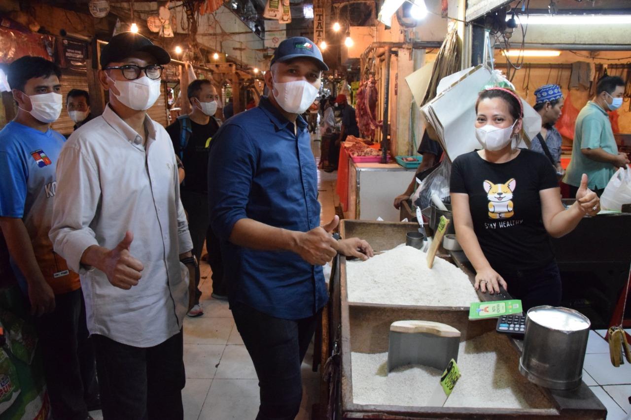 Direksi Perumda Pasar Pakuan Jaya Tinjau Pasar Bogor Jelang Lebaran