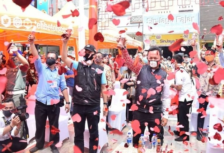 Doa Wali Kota Dan Wakil Wali Kota Bogor Untuk Perumda Pasar Pakuan Jaya di Usia Ke- 12 Tahun