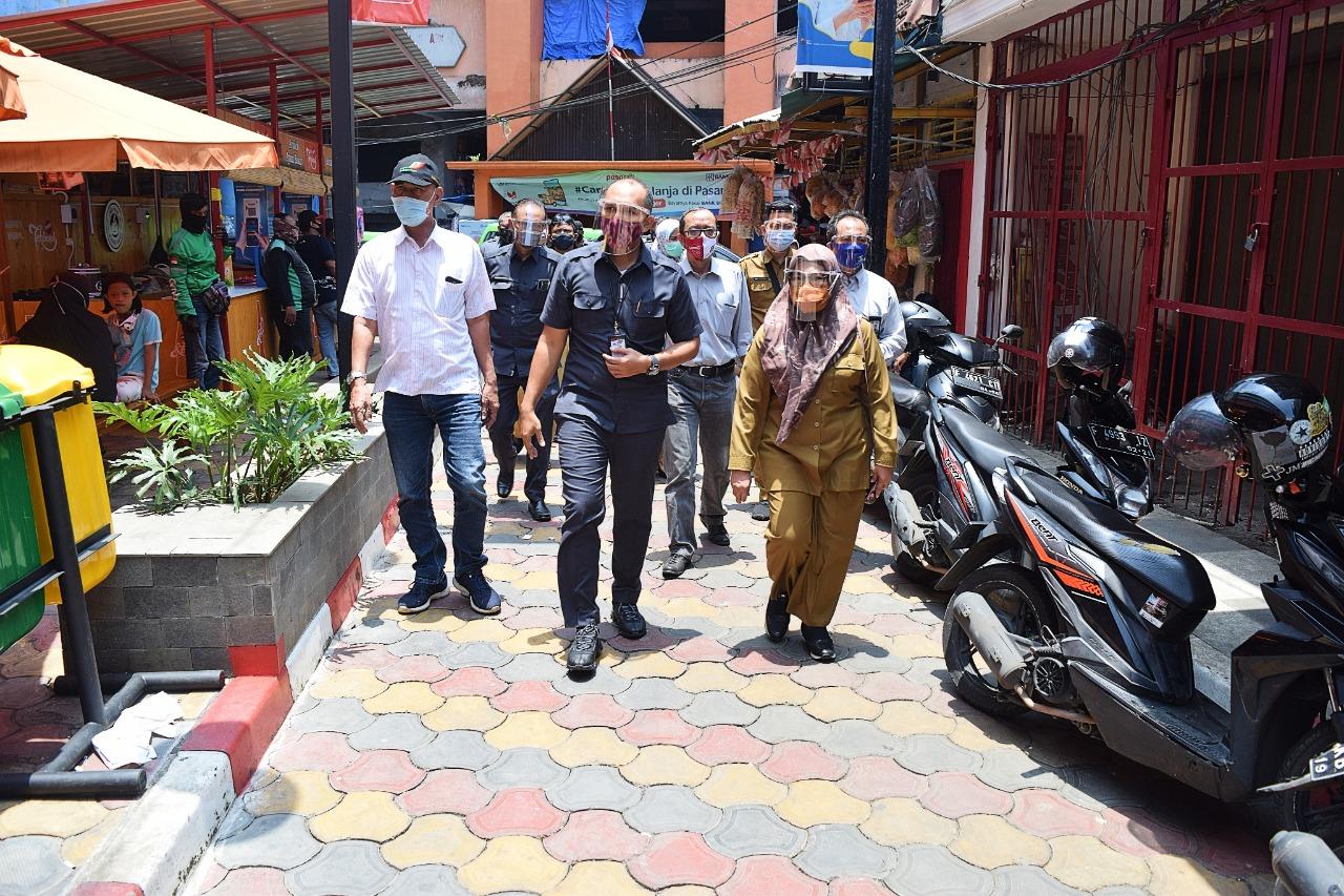 Sekda Kota Bogor Kunjungi 3 Pasar Perumda PPJ