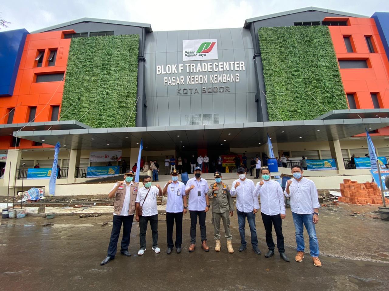 TPS Sudah Dibongkar, Blok F Pasar Kebon Kembang Siap Beroperasi