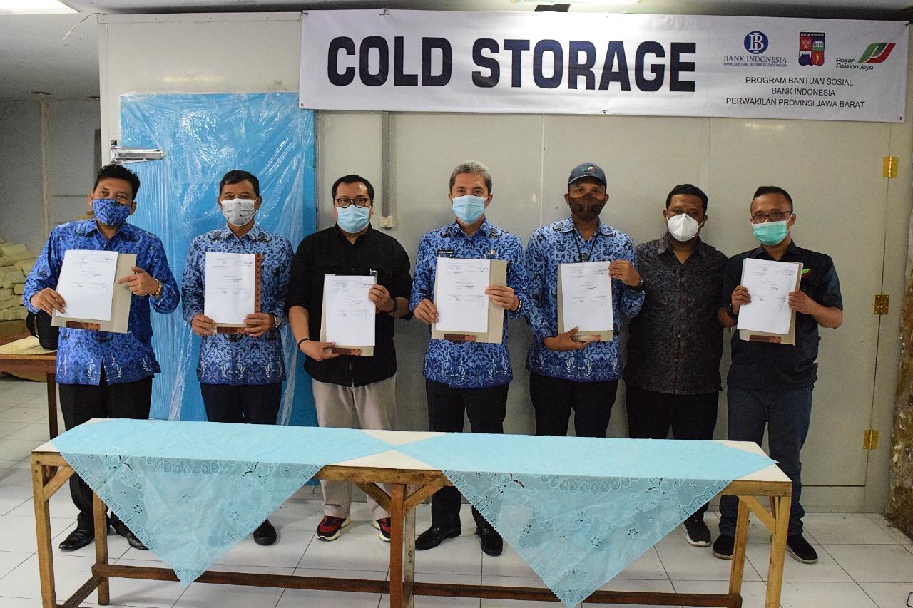 Perumda PPJ Terima Bantuan Cold Storage dari Bank Indonesia