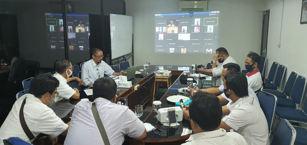 K3 Perumda PPJ Ikuti Pelatihan Online Biosekuriti Rantai Pasar Unggas